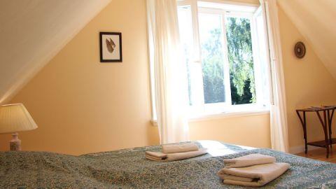 Schlafzimmer, Forsthof Krümmel