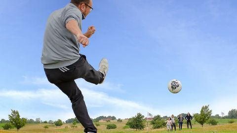 Trendsport Fussballgolf