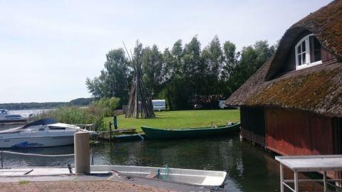 Bootshaus am Sietower Hafen