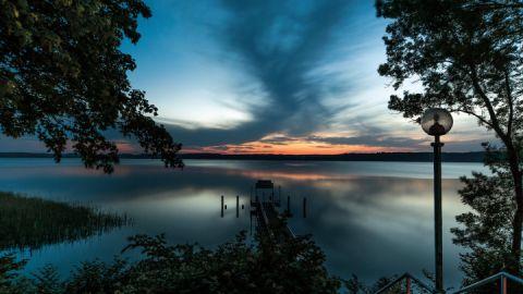 Traumhafter Ausblick vom Seehotel Heidehof