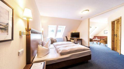 "Doppelzimmer ""Large"" - Seehotel Heidehof"