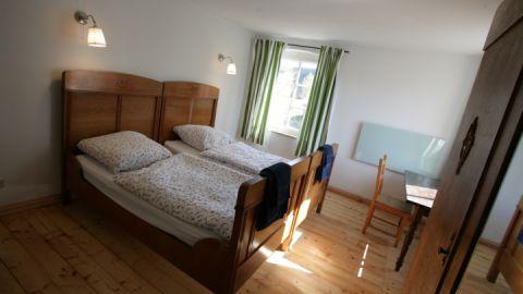 Schlafzimmer - linkes Rosenhaus