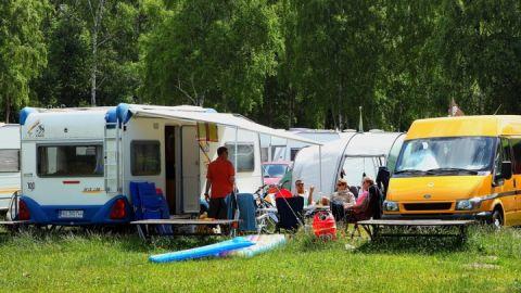 """Camping auf dem Campingplatz """"Boek"""" C16"""