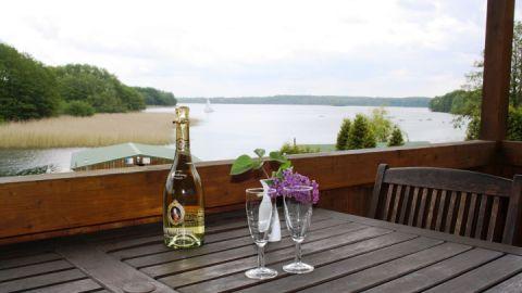 Blick vom Balkon der Ferienwohnung 1
