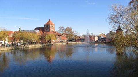Mühlenteich mit Stadtmühle