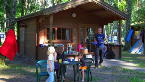 "Ferienhäuser 1-7 auf dem Campingplatz ""Bolter Ufer"" C 15"