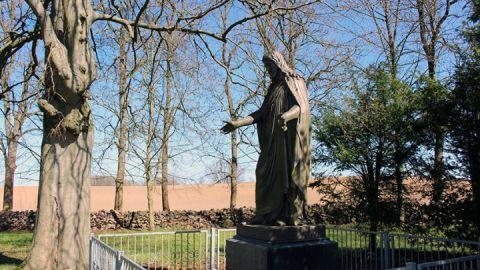 """Nachguss des """"Segnenden Christus"""" von Bertel Thorvaldsen"""