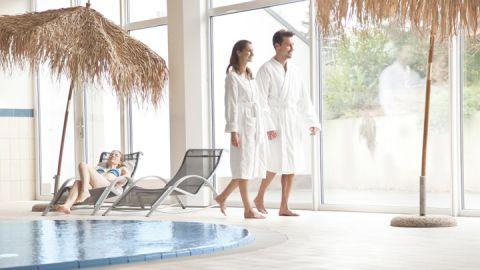 Indoorpool Mirow Spa Bereich - Aparthotel Seepanorama Mirow