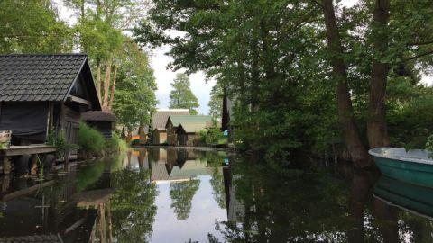 Bootshäuser - Kanu-Basis Blankenförde