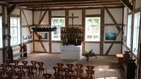 Dorfkirche Zachow - Innenansicht