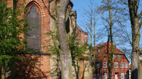 Kirche St. Georgen in Waren/Müritz