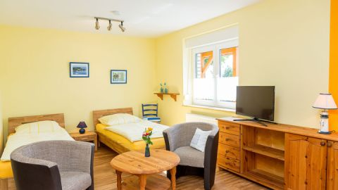 Zweibettzimmer - Landhaus Rügeband