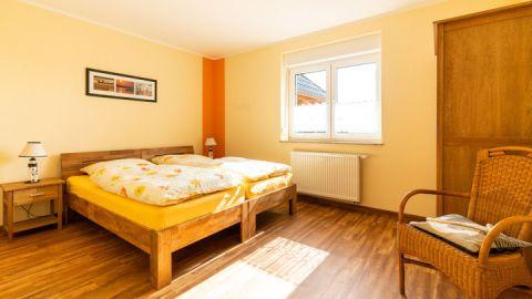 Doppelbettzimmer - Landhaus Rügeband