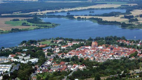Luftbild Sternberg am See