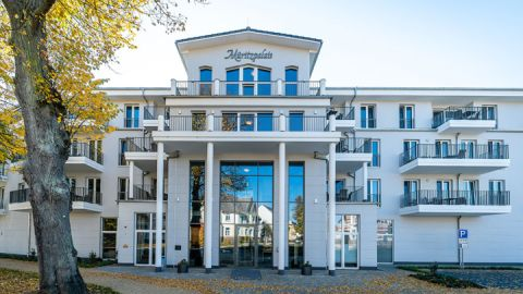 Eingang - Müritzpalais Aparthotel