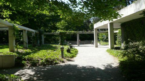 Eingangsbereich  der Museen am Inselsee