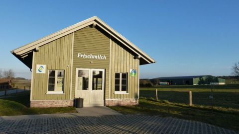 Unser Milchautomat in Bollewick