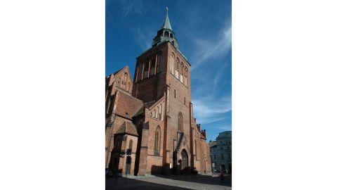Außenansicht Pfarrkirche St. Marien