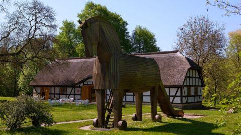 Das Trojanische Pferd von Ankershagen
