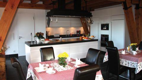 Wohlfühlzimmer mit Küche