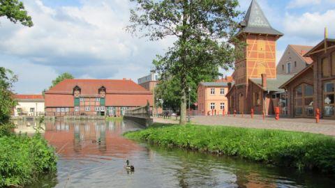Stadtmühle mit Feuerwehrspritzenhaus