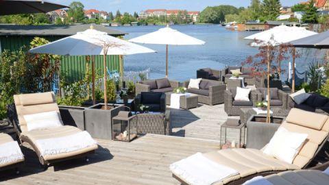 Seeterrasse - Hotel Rosendomizil Malchow