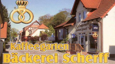 Kaffeegarten Bäckerei Scherff