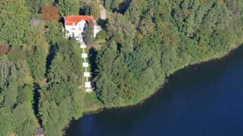 Luftbild - Schloss Drosedow