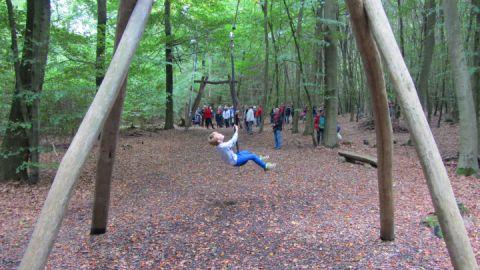 Seilbahn am Walderlebnispfad