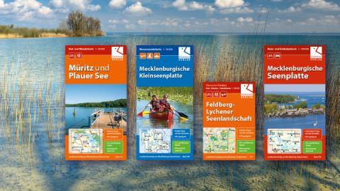 Rad-, Wander- und Paddelkarten - Klemmer-Verlag