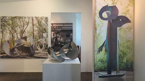 Skulpturenpark Wesenberg - Ausstellungsraum