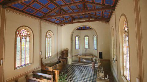 Innenansicht - Kirche Speck