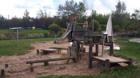 Spielplatz im Kindergarten Leuchtturm