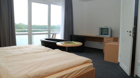 Doppelzimmer, Strandhotel Plau am See