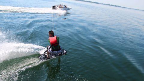 Wakeboarden - Katamaran- und Surfmühle Boek