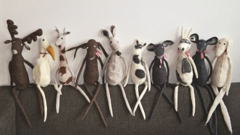 Filzhandwerk von Susanne Gebert