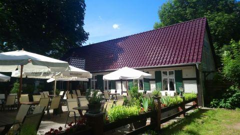 Ausflugsgaststätte Hohes Holz Terrasse