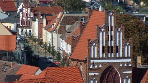 Blick aufs Rostocker Tor