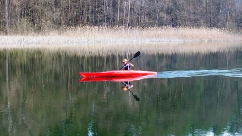 Die Feldberger Seenlandschaft per Kanu entdecken