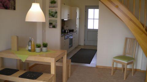Ansicht Wohnbereich-Küche