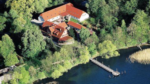Luftbild - Seehotel Heidehof
