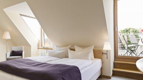 Kuscheldoppelzimmer mit Balkon