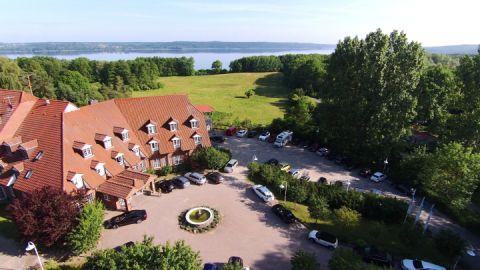 Luftbild - Hotel Bornmühle