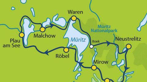 Rund um die Müritz & Plauer See