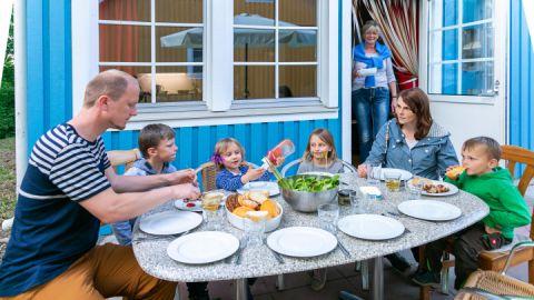 Familienurlaub im Ferienpark an der Müritz.