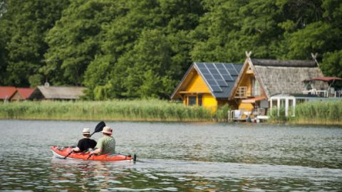 Rund um Mirow auf der Kanu Halbtagestour - Kultur - Kanutour