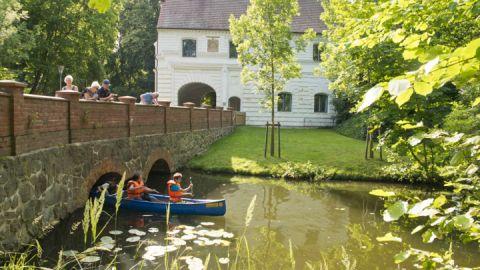 Rundtour auf dem Mirower See auf der Kanu Halbtagestour - Kultur - Kanutour