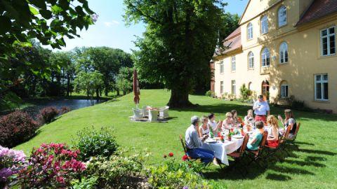 Schloss Lühburg, Mecklenburger ParkLand
