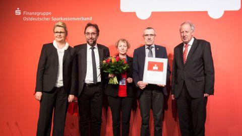 Verleihung Sparkassen-Preis für MÜRITZ rundum