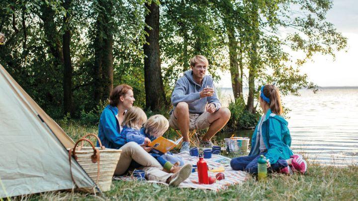 Campingurlaub direkt am See, Mecklenburgische Seenplatte